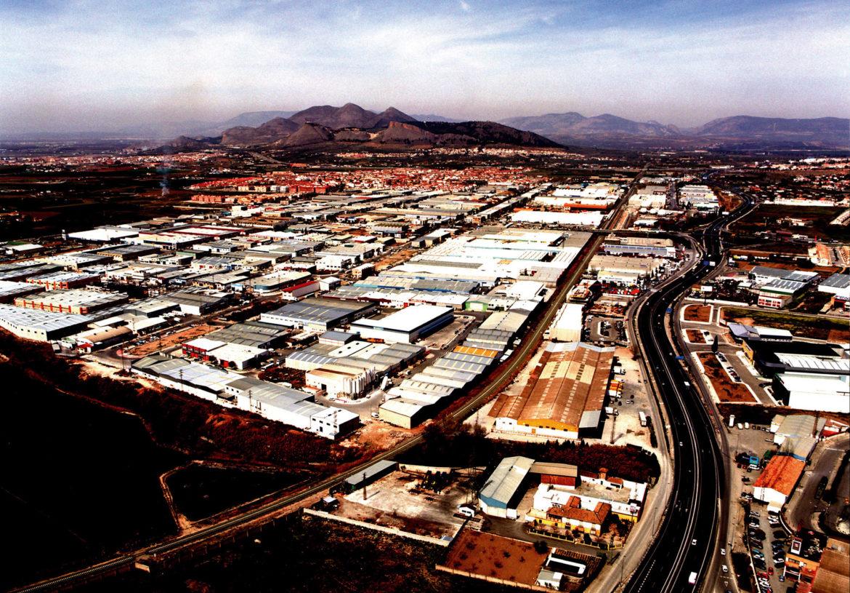 Juncaril, espacio productivo industrial de Granada.