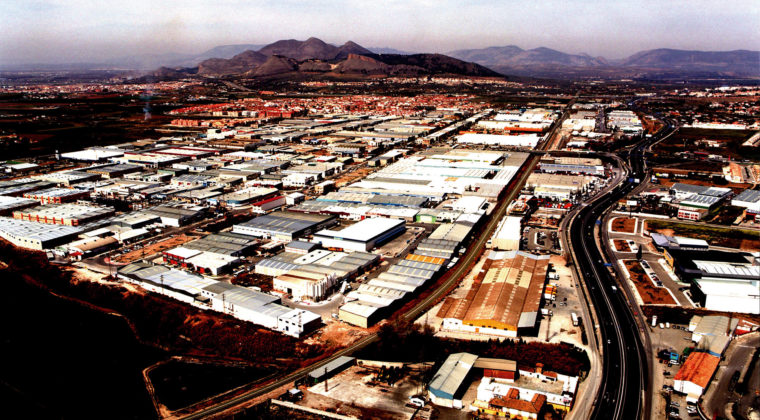 Juncaril, espacio productivo industrial de Granada.