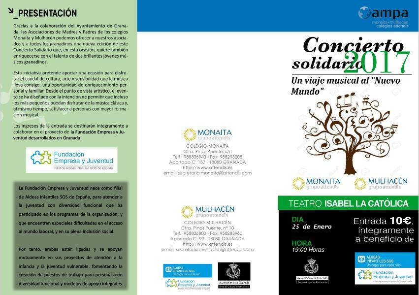 concierto fundación empresa y juventud