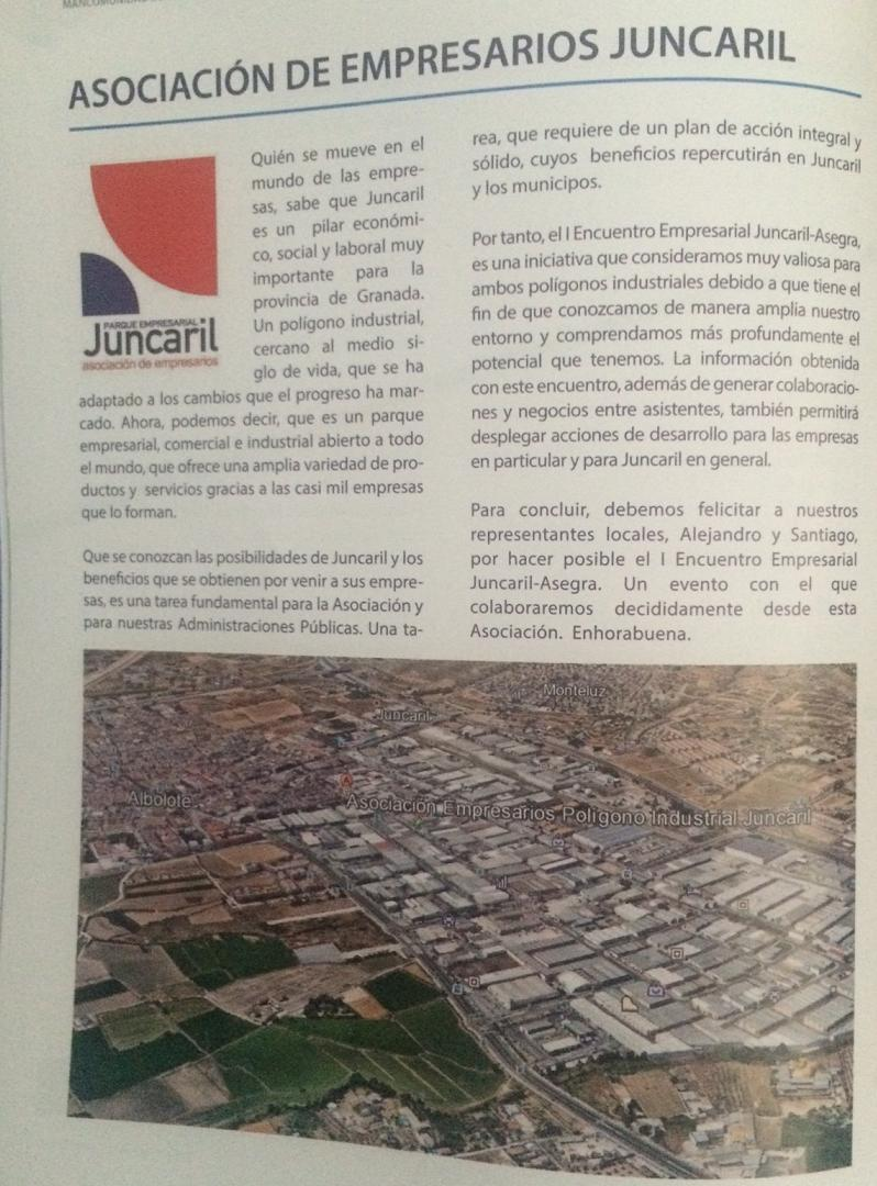 editorial juncaril asegra