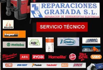 logo reparaciones granada