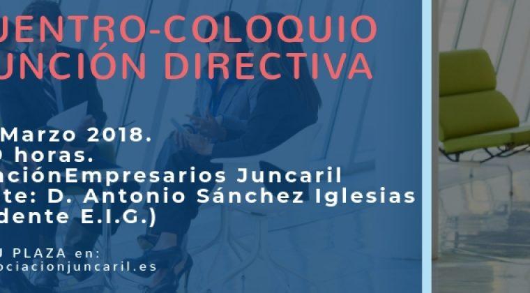 """Coloquio Encuentro """"La Función Directiva"""""""